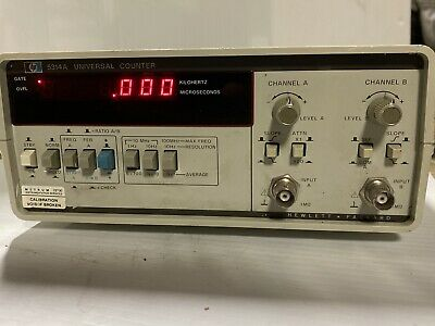 HP Agilent 5314A 2-Channel Frequency Universal Counter