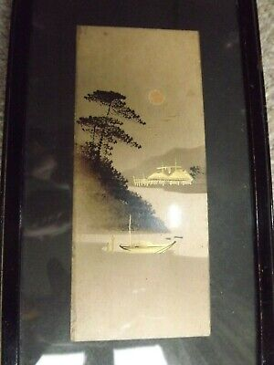 Small Antique Japanese Painting