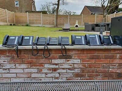 LG-Erricson IPECS phone system, 8 handsets,switches and comms cabinet