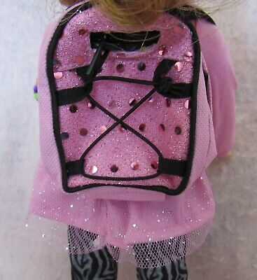 Star Backpack fits American Girl Wellie Wisher Doll 14.5 Inch Seller lsful