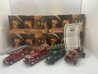 matchbox models of yesteryear fire engine Job Lot Collection