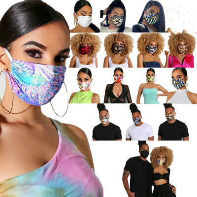 2020 Fashion Unisex Printed Wind-proof Face Cover Casual Outdoor