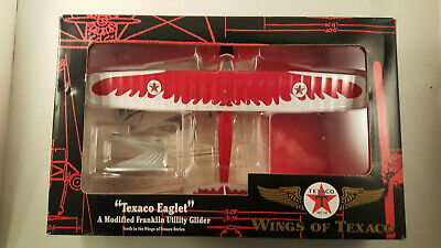 "ERTL Wings of Texaco ""Texaco Eaglet"" Diecast Metal Plane Bank"