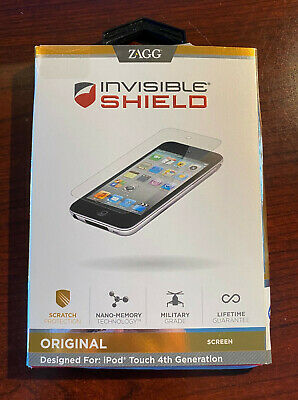Zagg Original Invisible Shield Screen Protector for iPod Touch 4th Generation