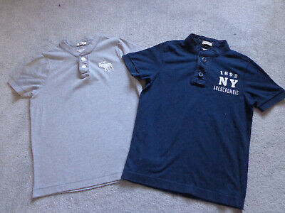 A&F Abercrombie & Fitch Boys T-Shirts Size Small Age 8-9 Years x 2