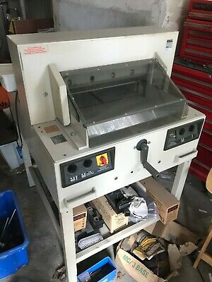 Ideal 4850 Guillotine With Automatic Clamp - Excellent Condition - Spare Blade