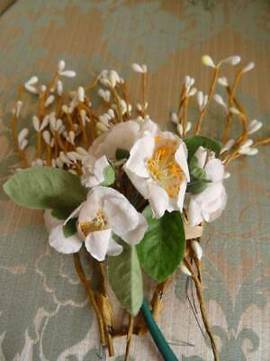 A Pretty Bunch Of Vintage/Antique Wild Roses & Budded Stems