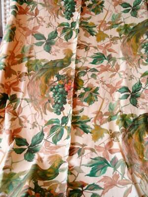 A Large Antique French Indienne Printed Fabric Double Sided
