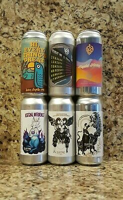 Monkish / Green Cheek / Electric Mixed 6 Pack (6 empty cans) treehouse trillium