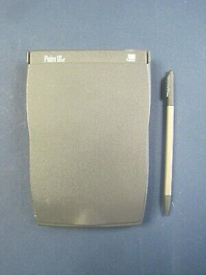Vintage Palm Pilot IIIe Personal Hand Held  pda System w Stylus