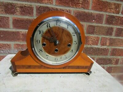 Vintage German Westminster chime Mantle Clock