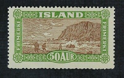 CKStamps: Iceland Stamps Collection Scott#148 Mint H OG Tiny Thin