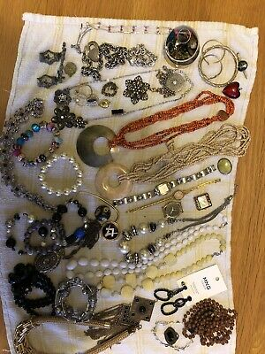 House Clearance Job Lot Of Modern/Vintage Costume Jewelry