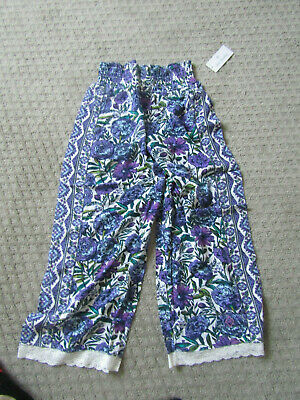 Vera Bradley  Lounge Pants in lavender meadows size small new