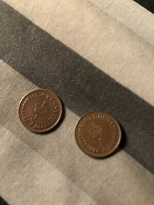 2 1971 Special Coins New Penny 1/2 A Penny Elizabeth Ii
