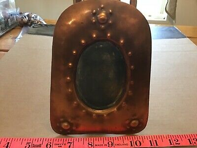 Antique  FANCY.Copper picture frame very unusual