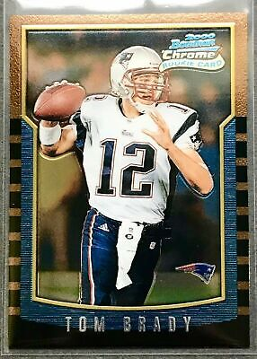 2000 Bowman Chrome Tom Brady ROOKIE RC #236 New England Patriots MINT CONDITION