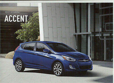 Hyundai Accent 2017 Brochure