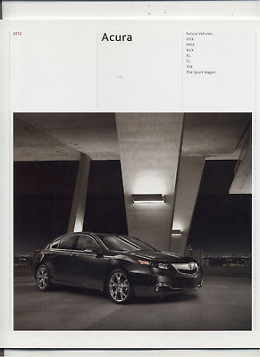 Acura 2012 Full Line Brochure