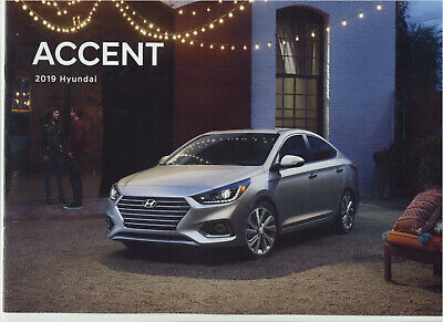 Hyundai Accent 2019 Brochure