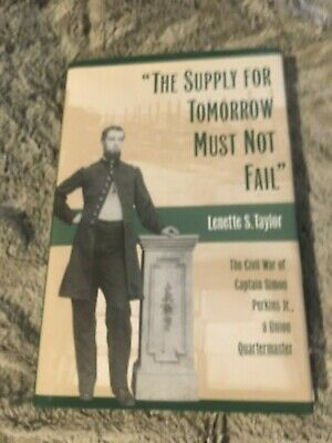 The Supply For Tomorrow Must Not Fail Quartermaster Capt. Simon Perkins