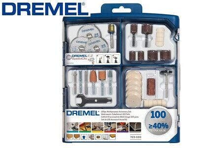 Dremel Multipurpose 100 Piece Accessory Set with EZ SpeedClic Mandrels & Storage