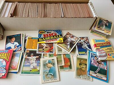 1000+ Baseball Cards 20-30 Years Old - SOME UNOPENED: McGwire & Lots More!