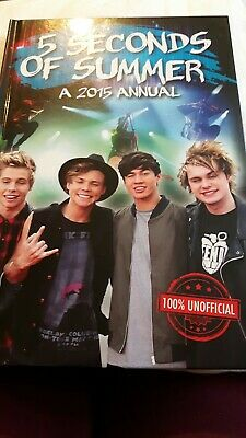 5 Seconds Of Summer Book 2015 Annual.