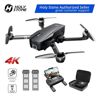Holy Stone HS720 GPS Drone with 4K UHD Camera brushless 5G FPV quadcopter +CASE