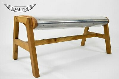 Polished Wing Bench - Airbus Aircraft Wing Sections man cave Aviation Furniture