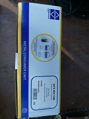 New Lewden QFS-MX12M Consumer Unit 10W 100A IP2XC BNIB