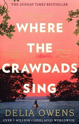Where the Crawdads Sing by Delia Owens Paperback NEW