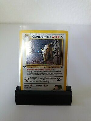 Giovanni's Persian First Edition HOLO EN Gym Chall. Pokemon PSA 9?