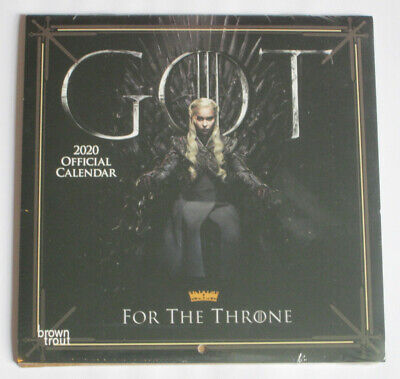 Brand New - Game Of Thrones 2020 Calender