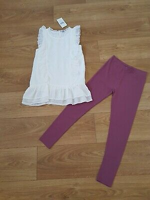 BNWT Girls Tu 2 Piece Outfit Age 11 Years