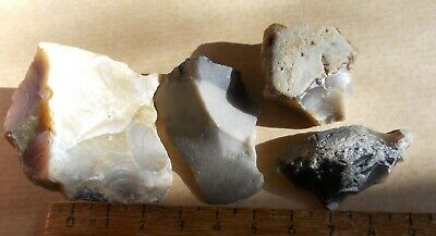 Mesolithic /Neolithic Flint Scraper Group
