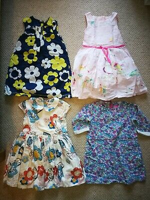 Girls dresses bundle age 3 - 4 years joules next m&s marks and Spencer party