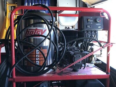 Used Hotsy 1075SSE Gas/diesel 3500 PSI with 8.5 Hours
