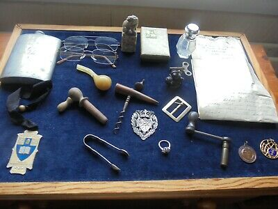 Another Quality Job Lot Of Antique/Vintage Collectables With Good Silver 876 K