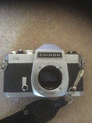 Vintage CHINON CX 35mm film SLR camera body only