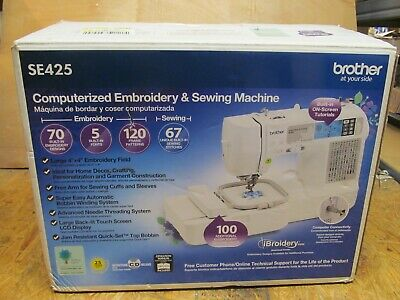 Brother Embroidery machine & Sewing Machine SE425 Enthusiast ( LOT 14415)