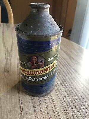 Braumeister Special Pilsner 12oz Cone Top Beer Can