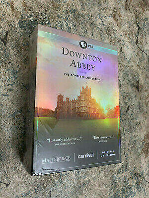 Downton Abbey Complete Series Collection (DVD, 22-Disc Box Set) US seller