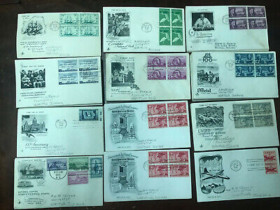 Lot 500 USA Cacheted Picture Covers 1930's - 1950's see pics