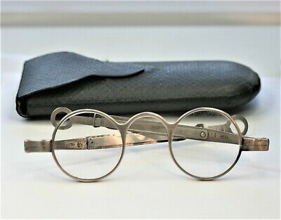 C1826 by LEA AND CLARK , SILVER SPECTACLES AND CASE, HALLMARKED.