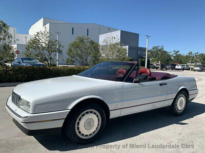 1992 Cadillac Allante' Coupe Convertible Classic Allante Pininfarina Low Miles Clean Carfax Garage Kept Collector's Item