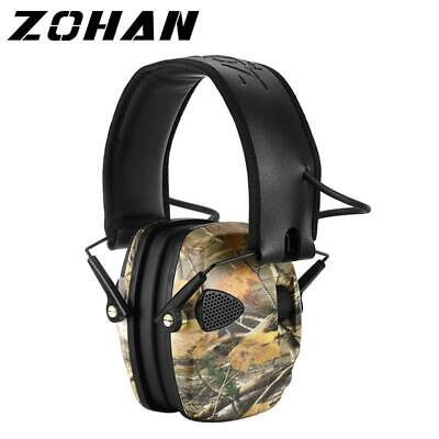 ZOHAN Electronic Earmuff  NRR 27DB Tactical Hunting Protection
