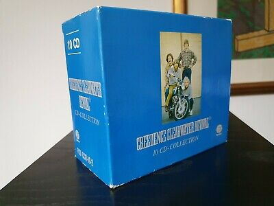 Creedence Clearwater Revival 10 CD-Collection German CD Album Box Set