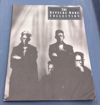 1991 Depeche Mode The Collection Music Song Book Piano Guitar Vocal