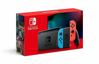 Brand NEW Nintendo Switch HAC-001(-01) 32GB Console with Red and Blue Joy‑Con